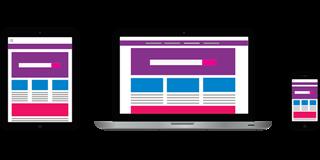 Web responsive para abogados
